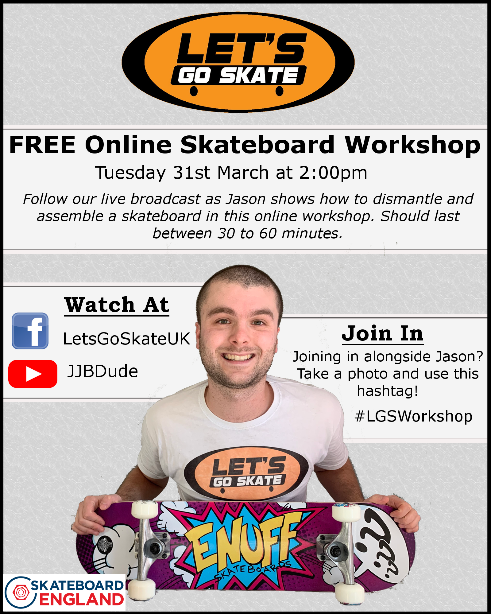 poster with details of workshop