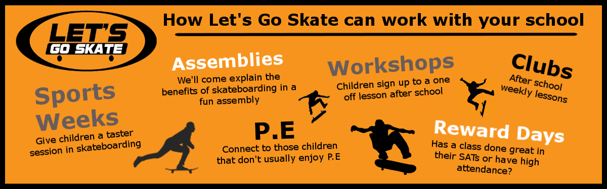 list of reasons for using let's go skate in school